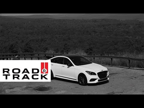 The Considered Power of the New Genesis G80 Sport | Road and Track + Genesis