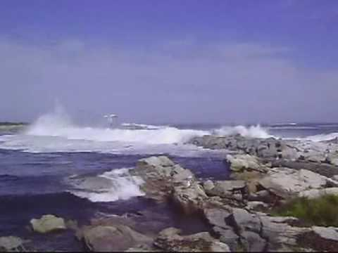 Hurricane Bill at the Isles of Shoals