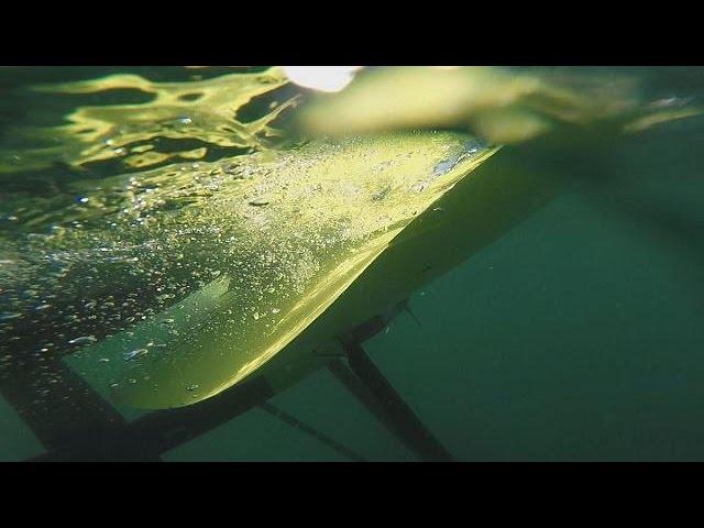 Ученые ЕС поручат воздушным змеям крутить турбины под водой - futuris