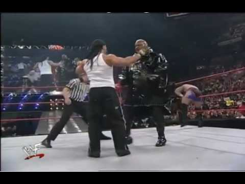 Too Cool vs Crash Holly & Viscera - Raw 1/24/00