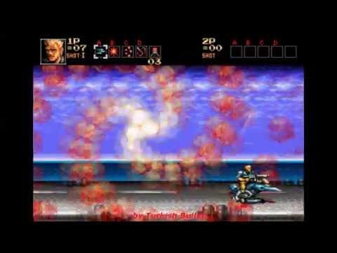 Contra: Hard Corps (Sega Genesis) - (Longplay - Ray Poward)