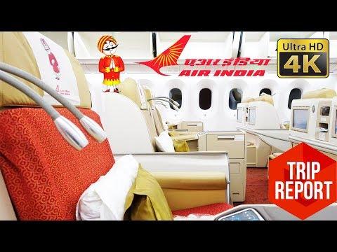 Trip Report (4K) - Air India Business Class AI349 Shanghai to Delhi (PVG - DEL)