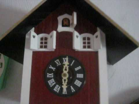 Unusual cuckoo clock
