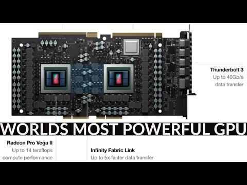 Radeon™ Pro Vega II Duo Worlds Most Powerful GPU!