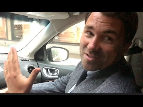 'ITS JUST THE HUSTLE' -EDDIE HEARN UNCUT (ON ROAD NEW YORK) ON $1 BILLION U.S DEAL WITH PERFORM/DAZN