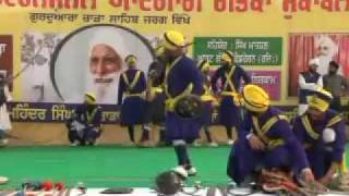 First International Gatka Competition at Gurduara Yadgar Sahib jarg 05.mp4