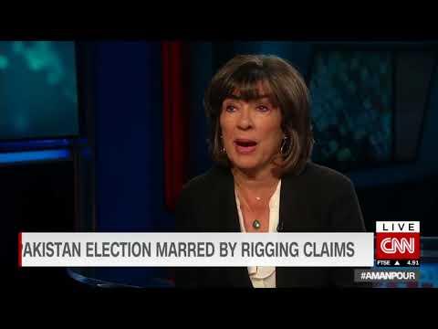 Shireen Mazari Exclusive Talk on CNN with Christiane Amanpour