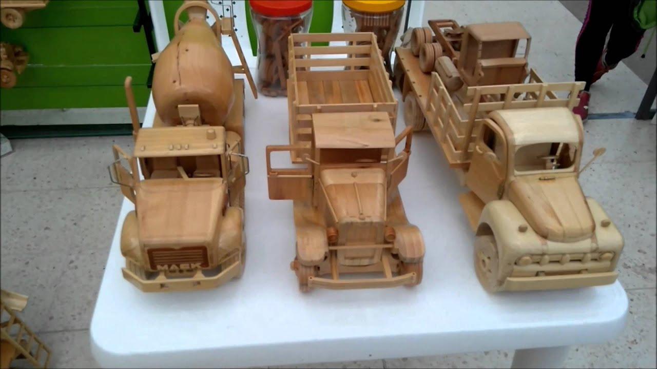 artesanas en madera camiones carros y mixer parte