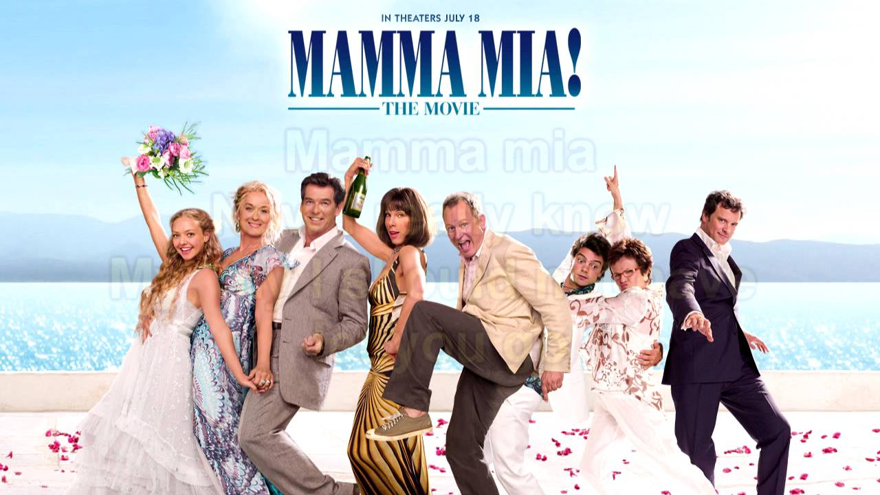 mamma mia the movie soundtrack mamma mia instrumental