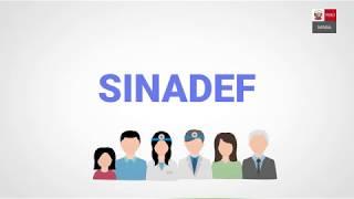 SINADEF :. Sistema Informático Nacional de Defunciones - Ministerio de Salud