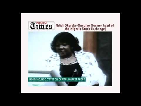 Okereke-Onyuike accuses Oteh, CBN of capital market abuses