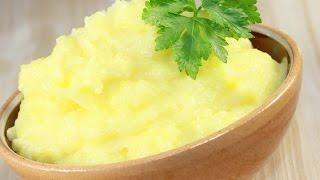 Как приготовить вкусное картофельное пюре! Картошка пюре. Пюре картофельное.