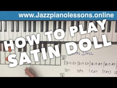 Satin Doll Jazz Piano Tutorial