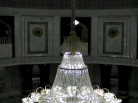 Inside Al-Faw Palace in Baghdad, Iraq