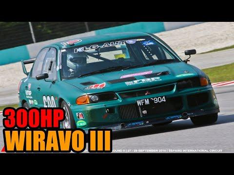 300HP PROTON WIRA CONVERT EVO III RACE CAR