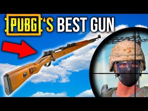 KAR 98 - BEST GUN IN PUBG! PlayerUnknown's Battlegrounds Sniper Gameplay