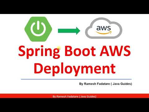 Spring Boot AWS Deployment - Full Course [2021]