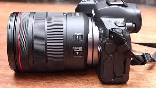 Full Frame bezzrkadlovka Canon EOS R