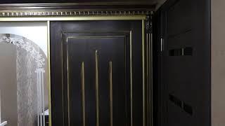 Обзор: шкаф купе и кровать из массива дерева от SPline