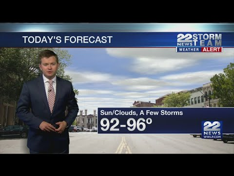 Early Afternoon Video Forecast