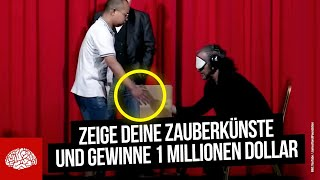 Dieser Mann entlarvt alle Zaubertricks! Die 1 Millionen Dollar Challenge