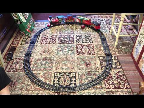 EZ-TEC North Pole Express Christmas Musical Train Set