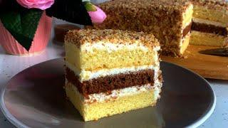 Простой Домашний Торт рецепт Simple Homemade Cake Recipe