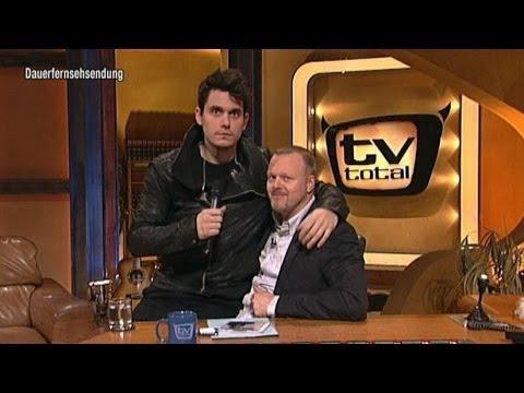 John Mayer haut beleidigt ab! - TV total