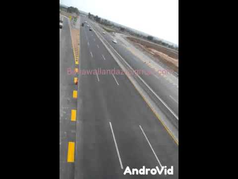Pakistan motorway near by neela Dullah Chakwal