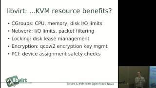 Libvirt and KVM