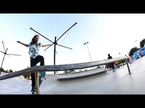 Pharmacy boardahops go skateboarding day.