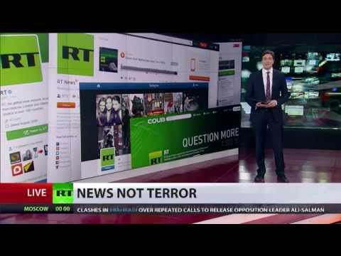 #NewsIsNotTerror: RT hosts speak out on US state media chief equating channel with ISIS & Boko Haram