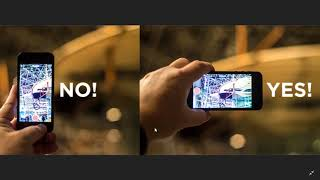 Tips and Tricks how to take good videos and pictures on your smart phone