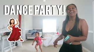 Dance party, Working out and Nadia learns how to draw VLOG