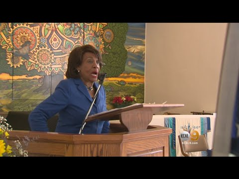 Rep Maxine Waters Reclaims Her Time By Skipping Trump SOTU Address.