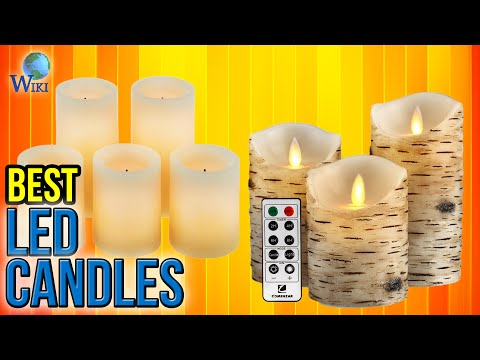 10 Best LED Candles 2017