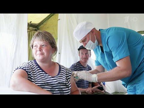 В Иркутской области медицинские мобильные бригады проводят массовую вакцинацию.