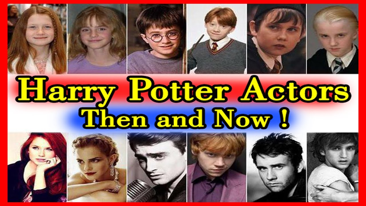 harry potter characters before after