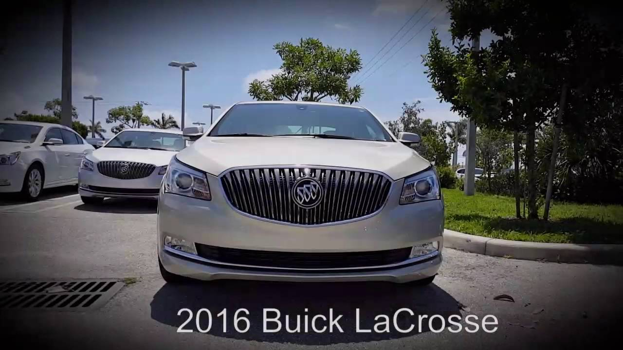 2016 Buick Lacrosse Sport Touring Edition