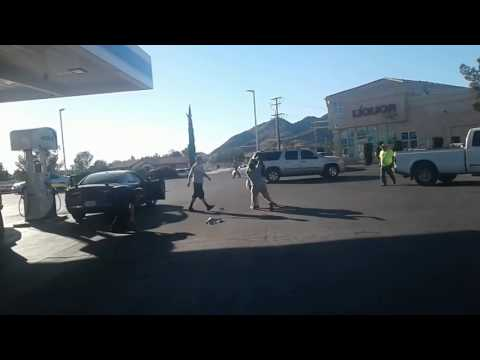 Fight at ampm apple valley ca