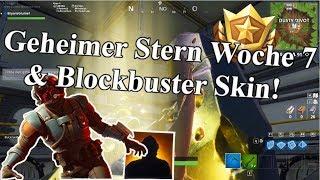 Find the GEHEIM KAMPFER SOLUTION & BLOCKBUSTER SKIN!! Fortnite: Battle Royale Week 7