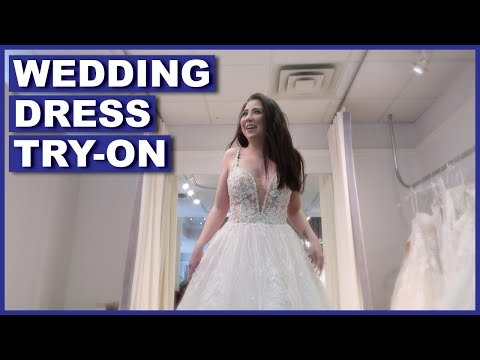 Trying On Wedding Dresses (I CHOSE ONE)
