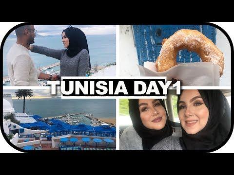 TUNISIA DAY1: GOING TO SIDI BOU SAID! | Amina Chebbi