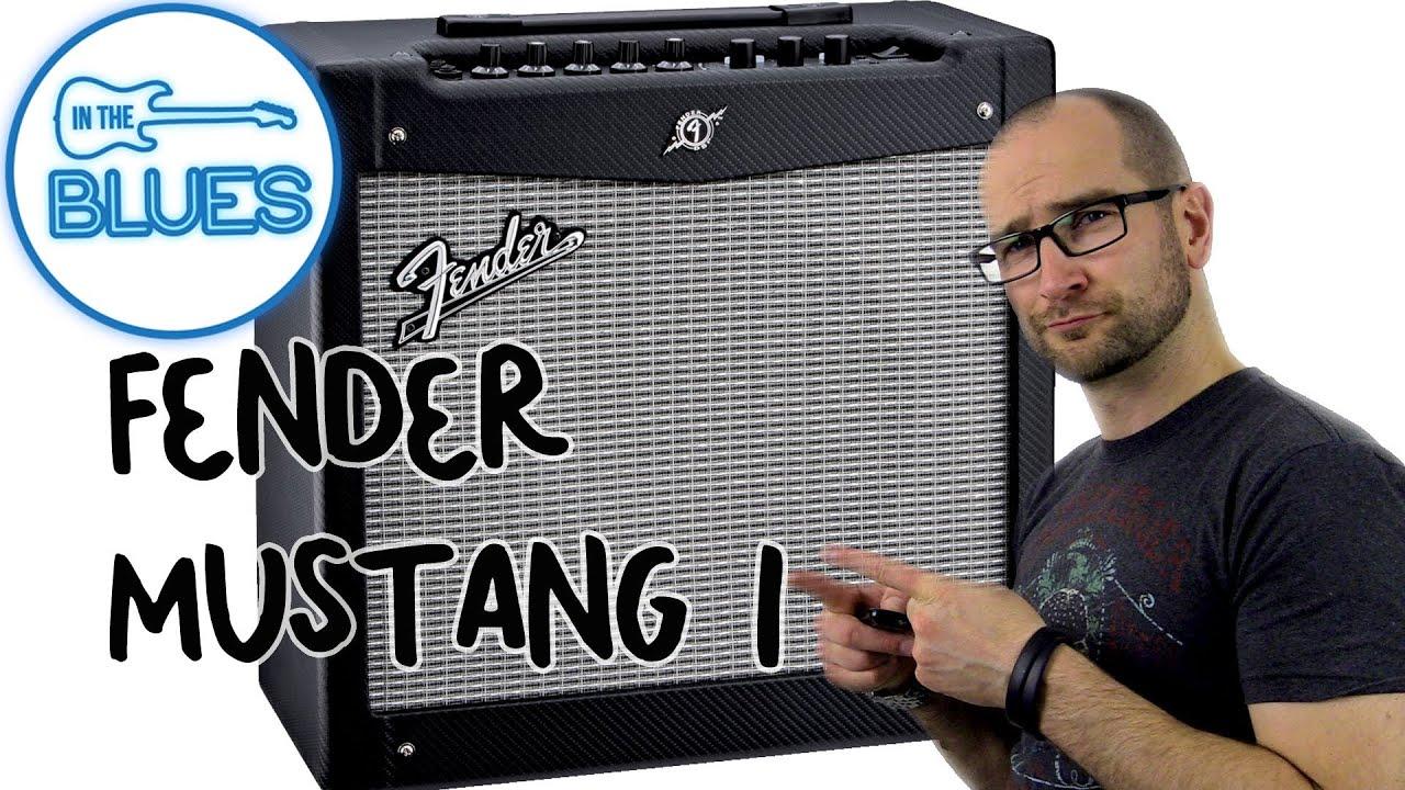 fender mustang 1 guitar amplifier demo - youtube