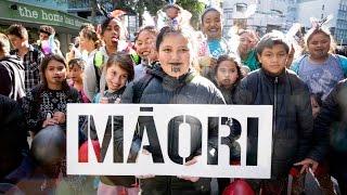 Maori Language week parade in Wellington