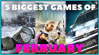 The 5 Biggest Games Coming Out In February 2019   Ps4, Xbox One & Pc