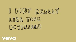 Avenue Beat - i don't really like your boyfriend (Lyric Video)