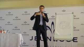 Выступление Ларичева Олега в Казахстане на открытии компании Jeunesse