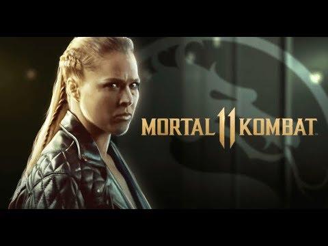 Mk11 Mortal Kombat 11 Sonya Blade W Rhonda Rousey Interview