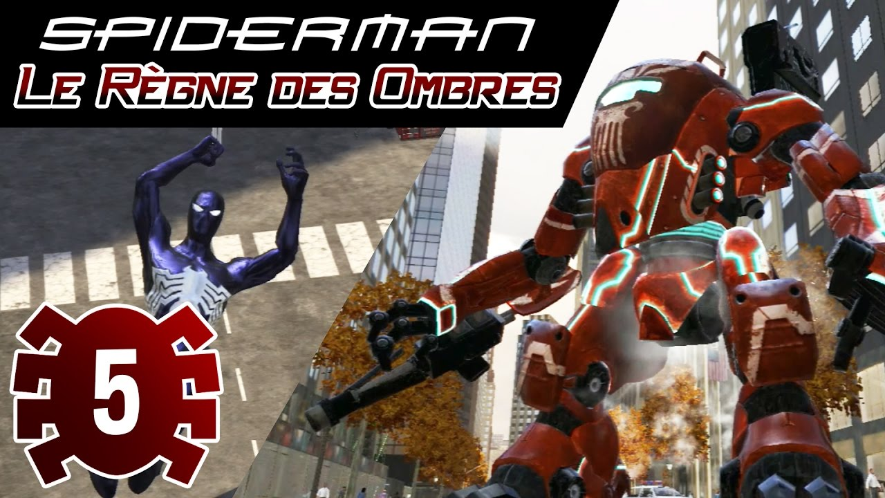 spiderman le rgne des ombres pc demo